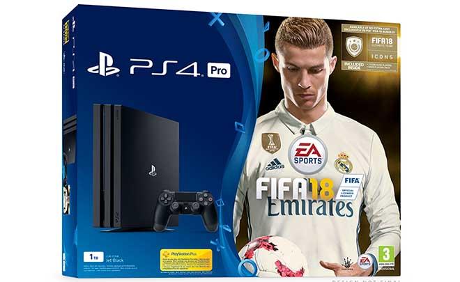 FIFA 18: annunciati i bundle PS4