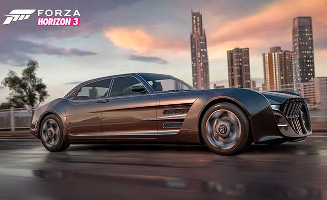 Forza Horizon 3 accoglie la Regalia di Final Fantasy XV