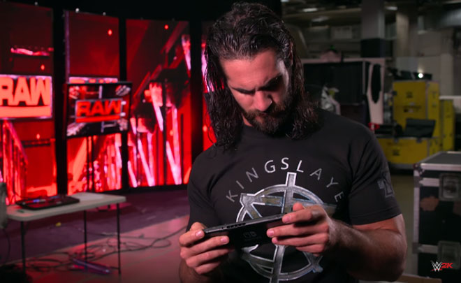 WWE 2K18: annunciata con un video la versione Nintendo Switch