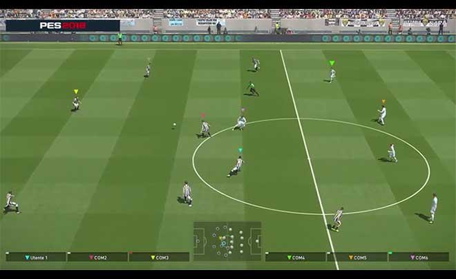 NVIDIA Ansel immorta le azioni di gioco su PES 2018