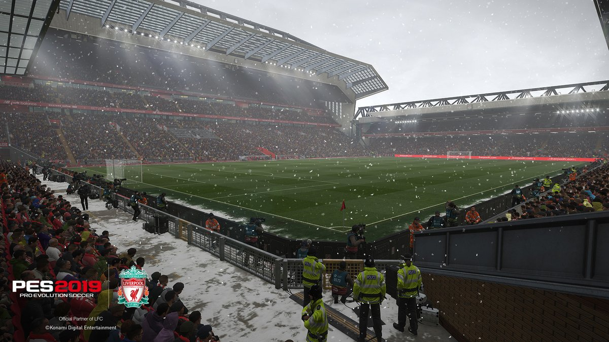PES 2019: Snow at Anfield : WEPES