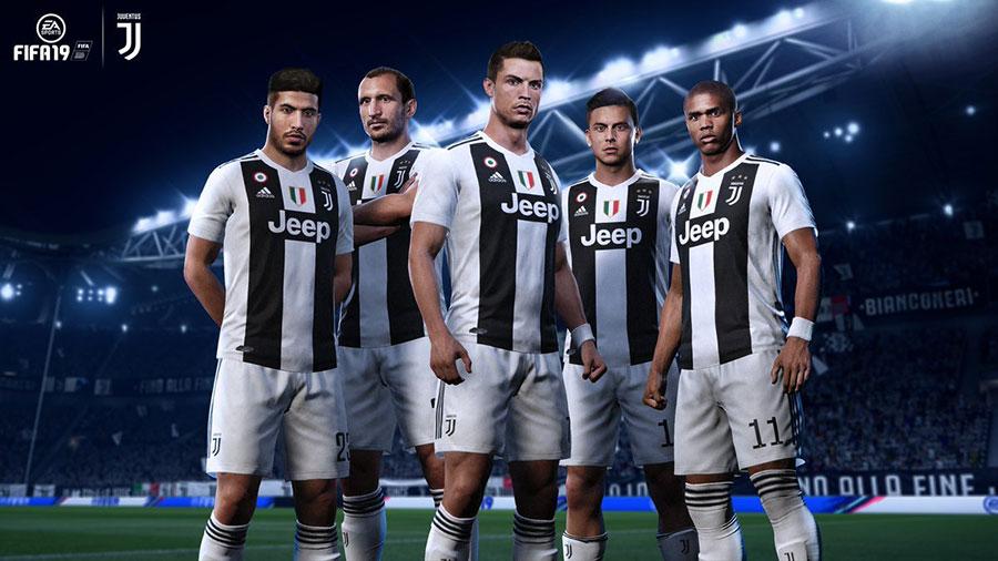 FIFA19: Cristiano Ronaldo cambia colori anche sul titolo