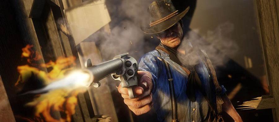 Red Dead Redemption 2 lancio