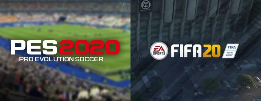 PES 2020 Fifa 20