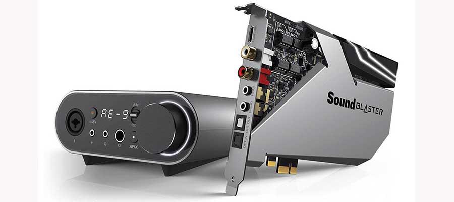 Sound Blaster AE-9 Recensione Scheda Audio