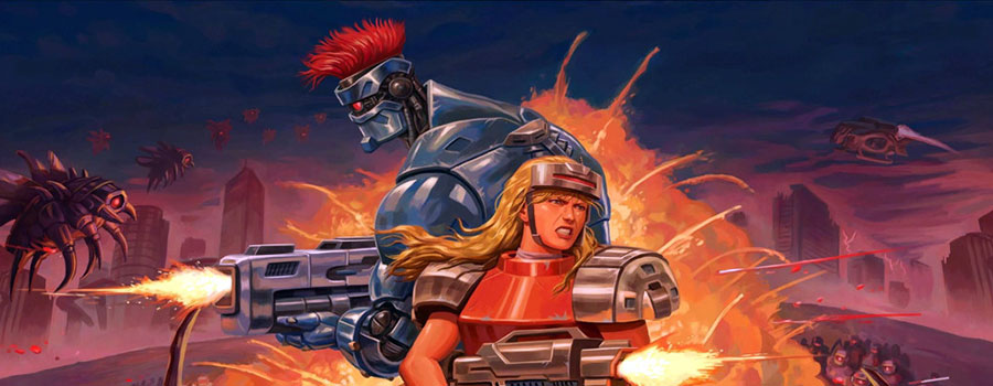 Blazing Chrome Videorecensione