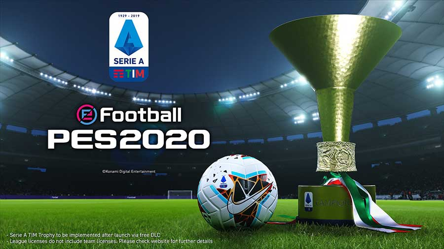 PES 2020 Serie A Ufficiale