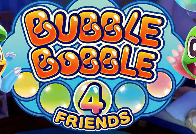 Recensione Bubble Bobble 4 Friends