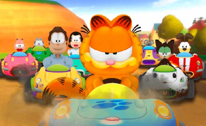 Garfield Kart Furious Racing disponibile da oggi