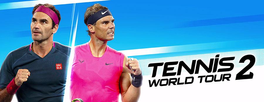 Tennis World Tour 2 Recensione