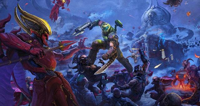 DOOM Eternal Ancient Gods Part 1 Video Gameplay