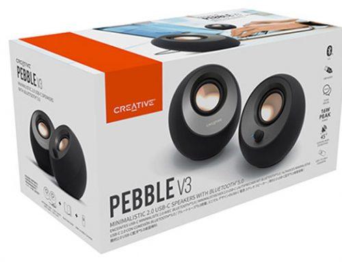 Giovedì il TGTech ti regala le Creative Pebble V3!
