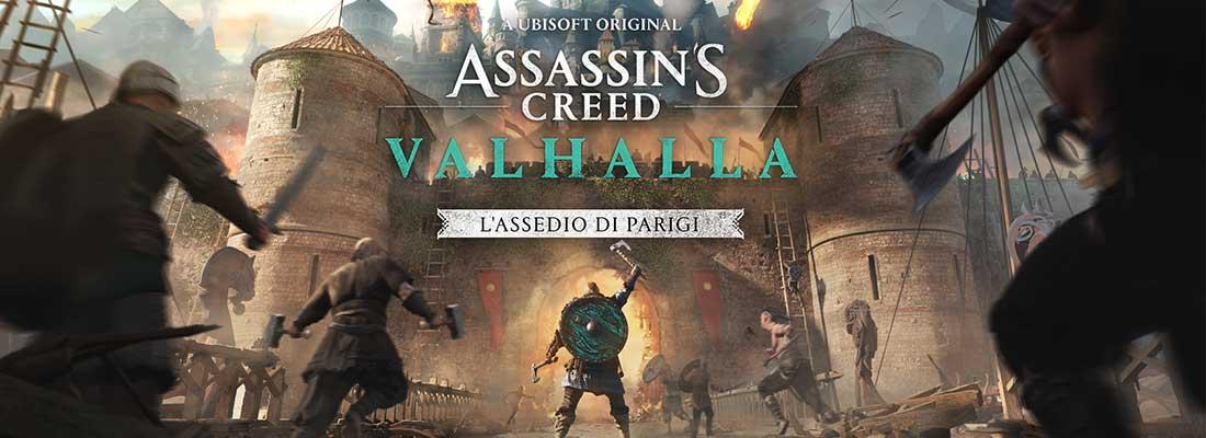Assedio di Parigi Recensione DLC AC Valhalla