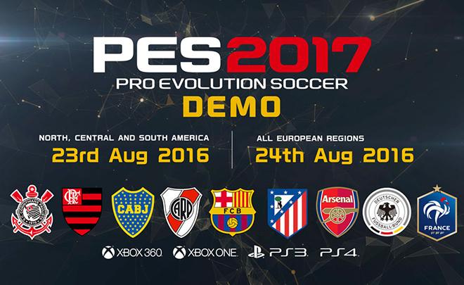 PES 2017: ecco il nuovo trailer mostrato alla Gamescom 2016