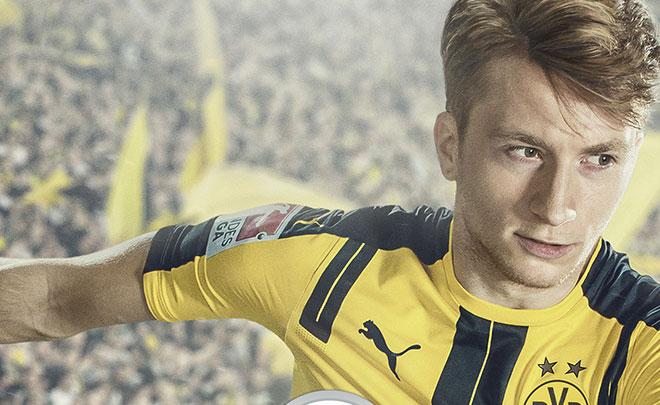 FIFA 17: Marco Reus del Borussia Dortmund è il testimonial della copertina