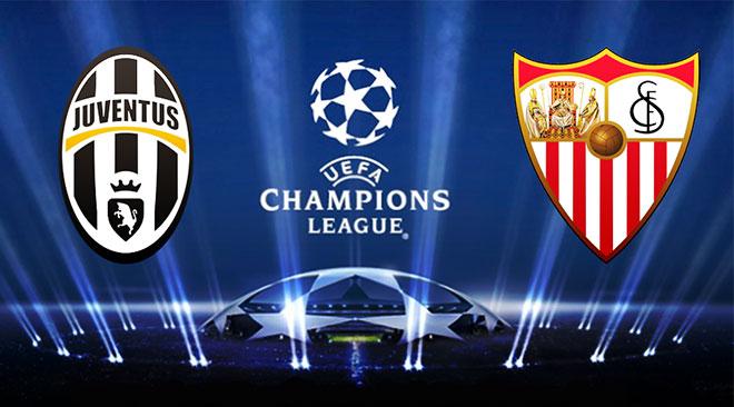 Siviglia Juventus di Champions League in chiaro su Canale 5