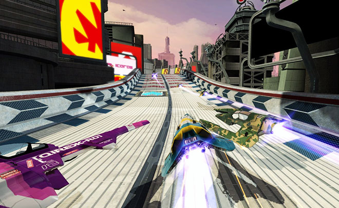 wipeout playstation 4
